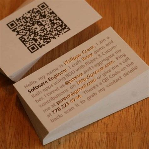 i actually think this mini resume style business card is genius tells exactly