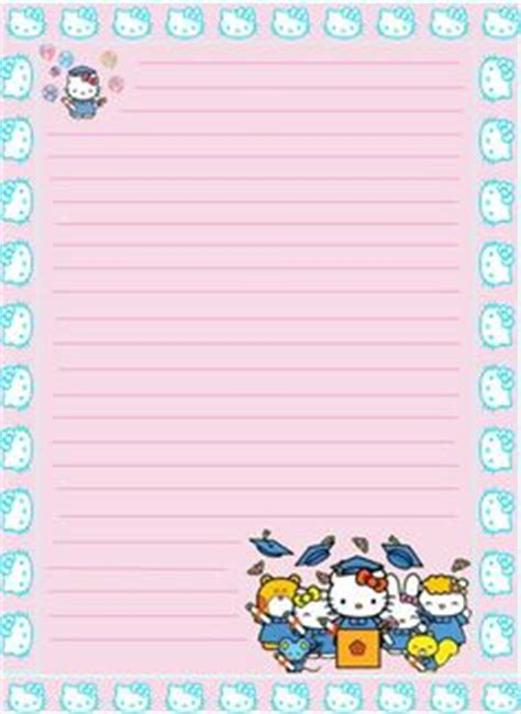 hello kitty stationery printable 1000 images about kawaii letter paper on pinterest