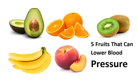5 fruits in 5 fruits that can lower blood pressure