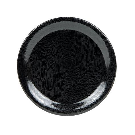 Large Dia Narrow 5 Spoke White Black get np 6 bk 6 5 quot plate w narrow melamine