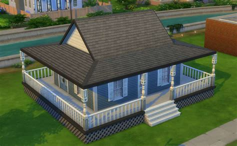 how to build a wrap around porch the sims 4 building roofs
