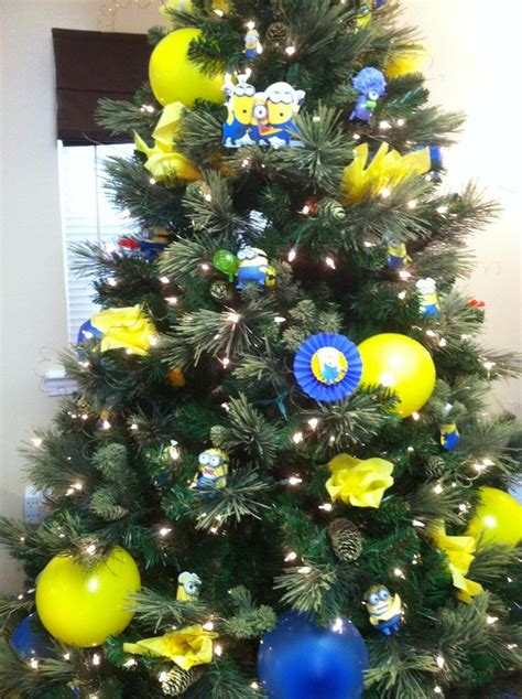 minion tree christmas pinterest