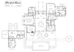 stanford house luxury villa rental in barbados floor plan