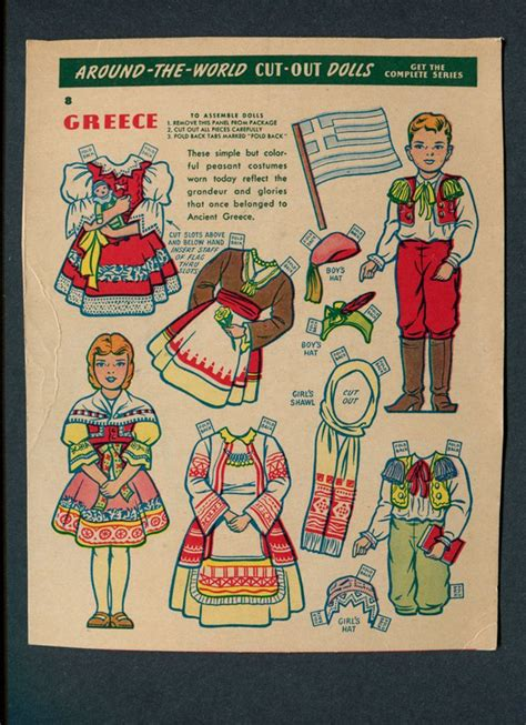 printable paper dolls from around the world pin by leslea parrish on paper dolls around the world
