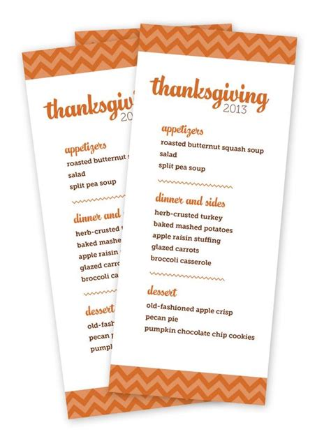 thanksgiving menu templates free customizable thanksgiving menus hgtv