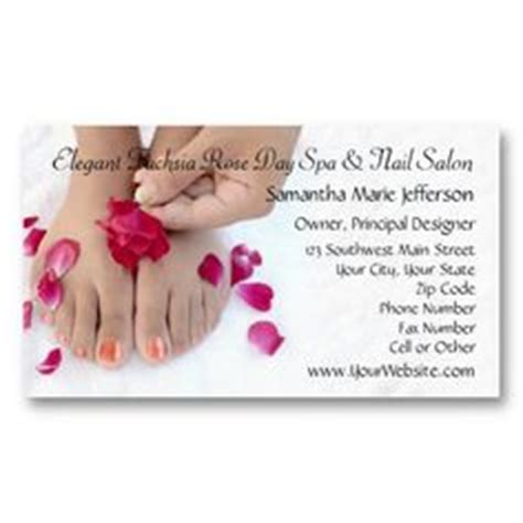 nail salon business card template free 1000 images about nail salon business cards on
