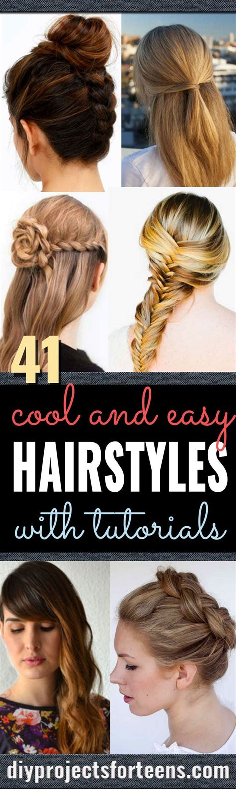 Cool And Easy Hairstyles by Best 25 Easy Hairstyles Ideas On