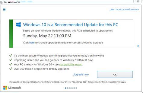 install windows 10 gwx microsoft s latest trick clicking x to dismiss windows
