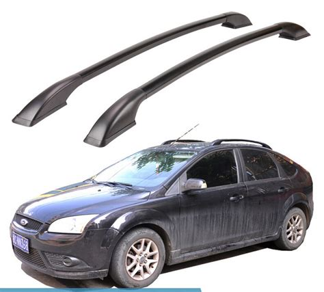 Ford Focus 2012 Roof Rack by For Ford Focus Hatchback Roof Rack Rails Bar Luggage Carrier Bars Top Racks Rail Boxes Aluminum