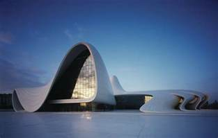 Architecture Inspiration heydar aliyev cultural center designed by zaha hadid
