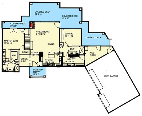 northwest floor plans northwest ranch with finished lower level 35497gh