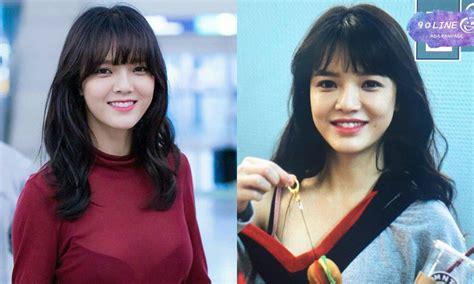 netizens suspect aoa s jimin of getting a plastic surgery