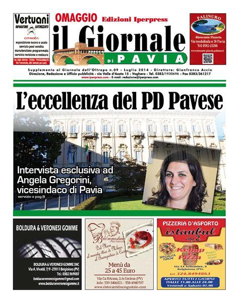 giornali di pavia calam 233 o il giornale di pavia n 176 09 luglio 2014