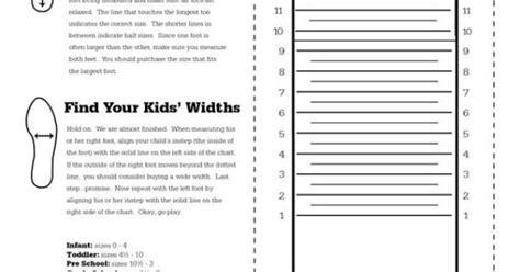 printable shoe size chart nike kids nike printable shoe size chart scope of work