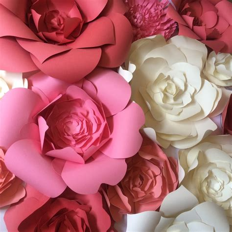How To Make Paper Flowers For Wall - paper flower wedding reception wall ideas mid south