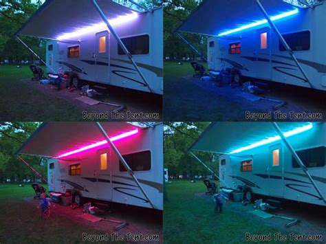 Rv Awning Lights For Sale by With Lights Spicing Up Your Cer With Led Lights