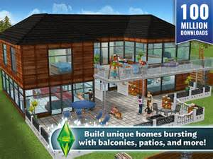 Home Exterior Design App Ipad the sims freeplay on the app store on itunes