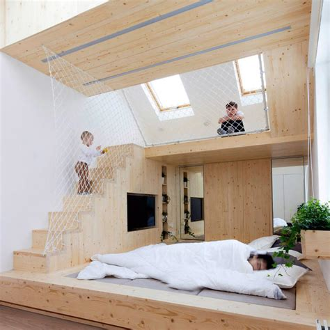 bedroom playhouse ruetemple adds children s playhouse to bedroom in russian summer house follownews