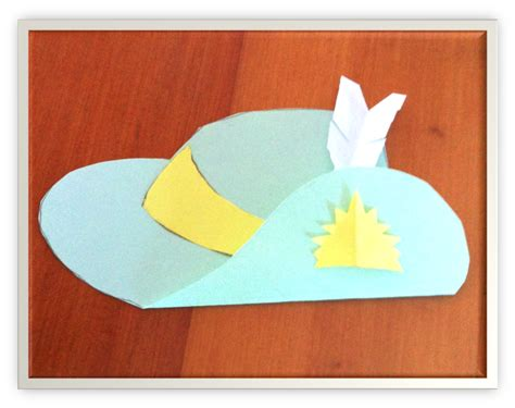 Paper Hat Craft - the learning curve lest we forget