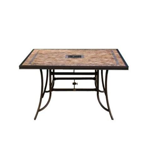 High Patio Dining Table Hton Bay Westbury Patio High Dining Table Discontinued S9 Adq27112 Table The Home Depot