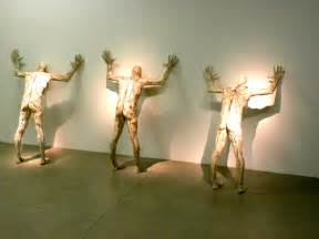 Contemporary by File Statues In Zagreb Museum Of Contemporary Art Jpg