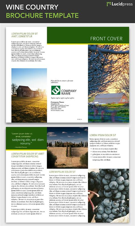 country brochure template 21 creative brochure design ideas for your inspiration