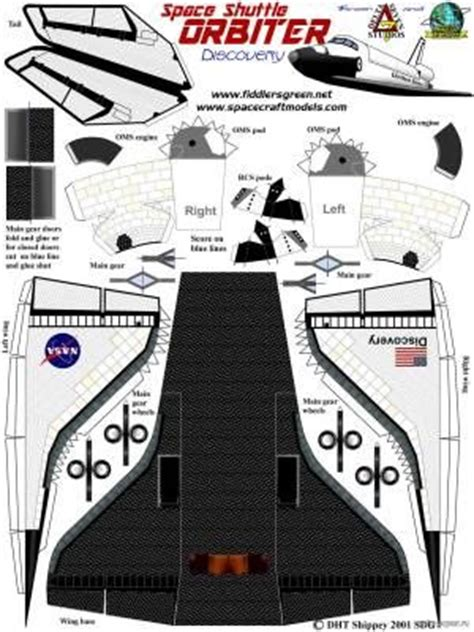 Space Shuttle Papercraft - 1000 images about airplane craft paper models on