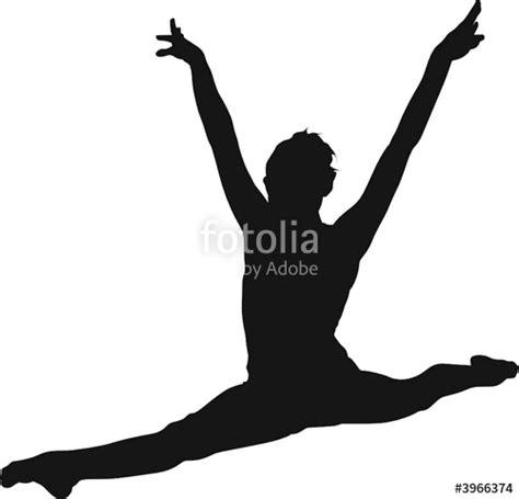 clipart ginnastica quot sport silhouette gymnast quot immagini e vettoriali royalty