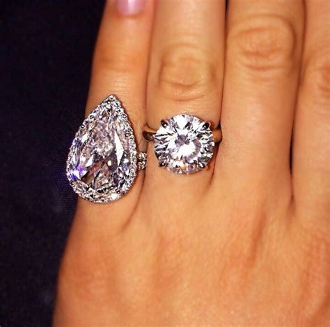 lilly ghalichi pear ring hilary duff engagement ring