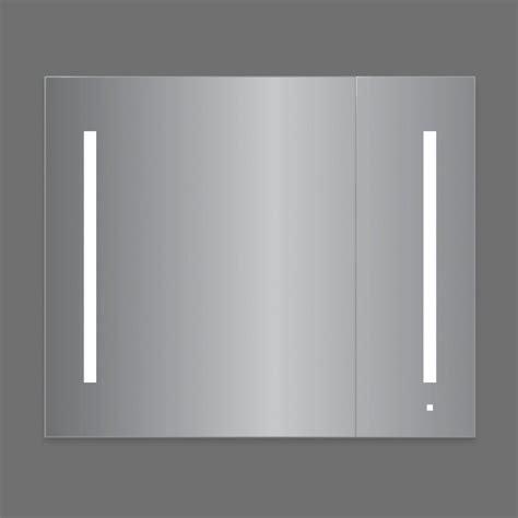robern ac3630d4p2l aio series 35 1 4 inch flat plain two
