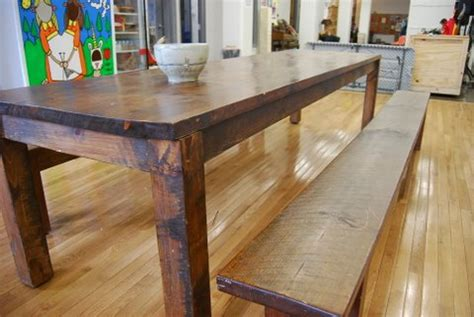 Handmade Kitchen Table - etsy the