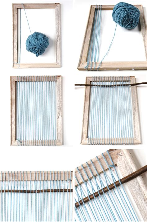 what to use to stick things on wall things i ve made from things i ve pinned diy woven wall