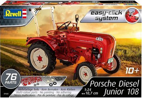 Porsche 108 Junior by Revell Modellbausatz Traktor 187 Porsche Junior 108 171 Otto