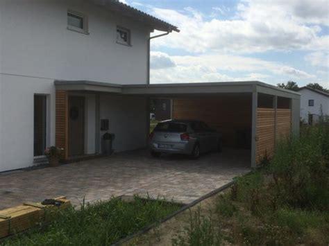 carport mit flachdach garage mit carport flachdach loopele
