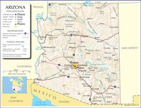 arizona map road map of arizona images