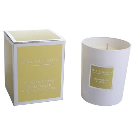 Max Benjamin Scented Candle in Gift Box   Lemongrass
