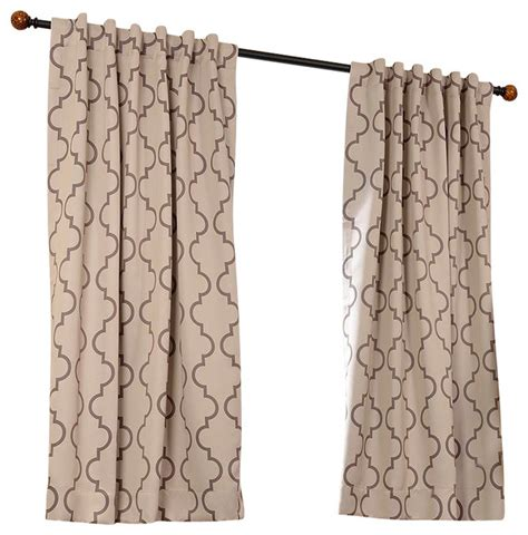 tan blackout curtains seville tan blackout curtain brown 50 quot x 63