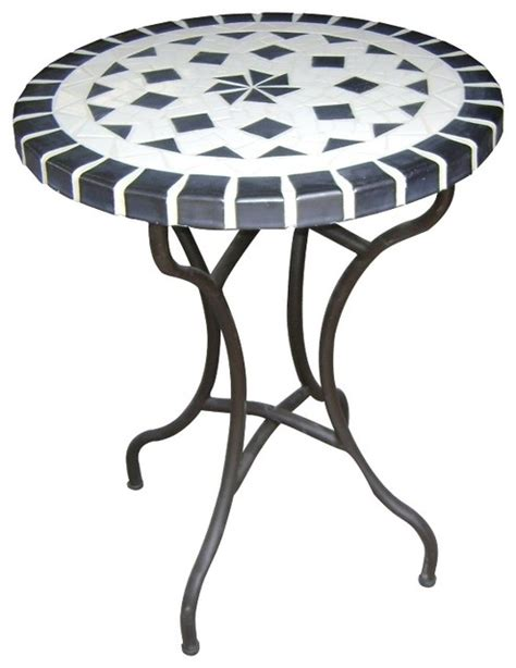 Ceramic Patio Table Dining Ceramic Mosaic Table Traditional Outdoor