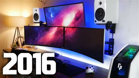 ultimate gamer setup my new ultimate gaming setup room tour youtube