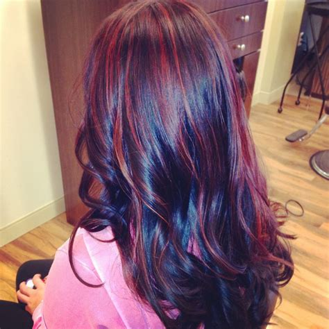 red hair with blue highlights red hair with blue highlights newhairstylesformen2014 com