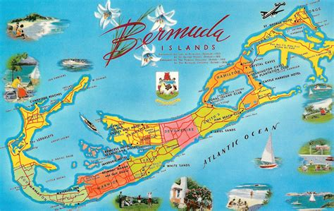 bermuda on a map bermuda maps selection bermuda sts