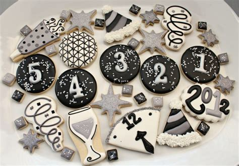 new year cookies decoration basic cookie decorating supplies and a printable shopping