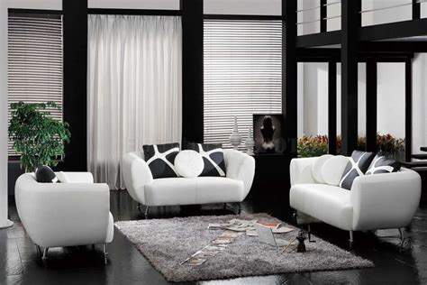 Living Room Modern Black And White Decorating Ideas For Modern Furniture Designs For Living Room