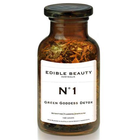 Edible Green Goddess Detox Tea by Edible Tea No 1 Green Goddess Detox Nourished