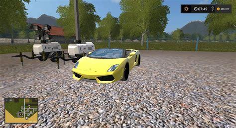 Lamborghini Mods Lamborghini Gallardo Spyder Ls17 Farming Simulator 2017