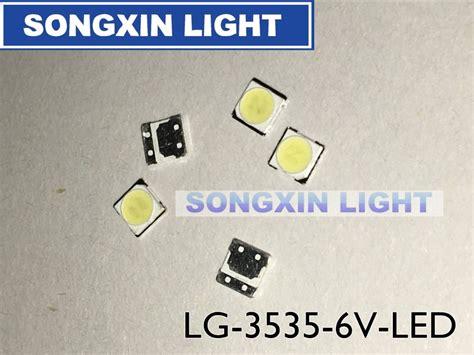 Lg Innotek Led Backlight 1 W 7030 6 V Aplikasi Tv Smd Putih Dingin 50pcs lg innotek led led backlight 2w 6v 3535 cool white lcd backlight for tv tv application