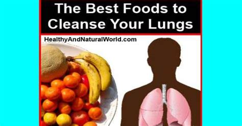 Best Foods To Detox Your by The Best Foods To Cleanse Your Lungs