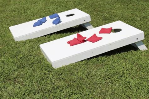 backyard bean bag toss game 10 easy diy backyard games howstuffworks