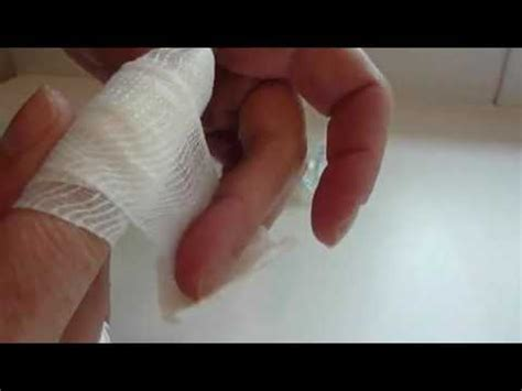 to finger how to apply a finger bandage www aidbox co uk youtube