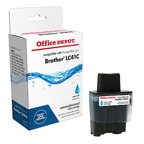 office depot coupons brother ink office depot brand r lc41cs brother lc41c remanufactured
